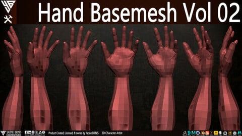 Hand Basemesh Vol 02