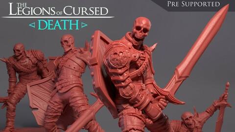 Skeleton Miniatures, 3D Print, Resin, STL