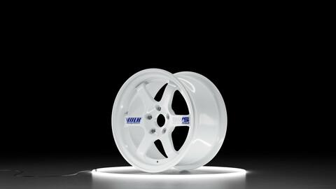 RAYS VOLK RACING TE37 Car wheel 3D model
