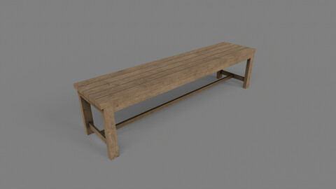 PBR Locker Room Seat Bench 02