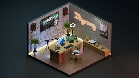 game streaming room