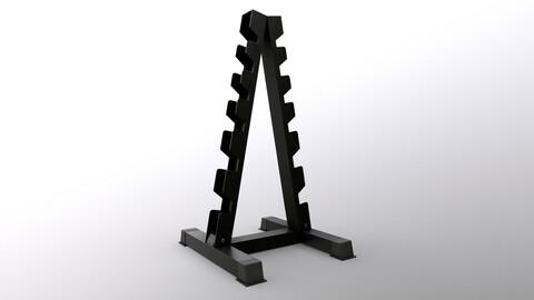 PBR Dumbbell Rack E