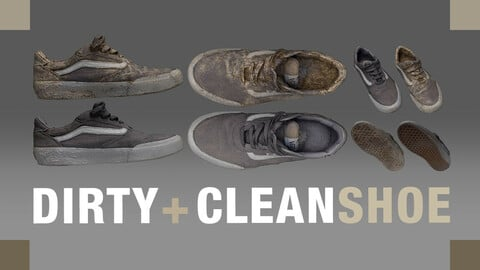 Vans Shoe: Clean and Dirty