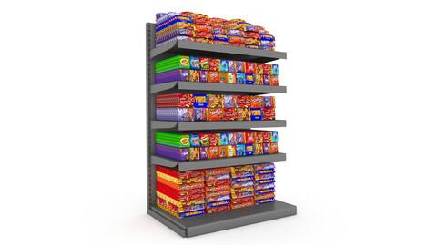 3D chocolate store 02 model