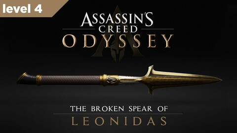 Broken Spear of Leonidas Level 4 3D