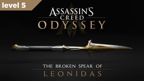 Broken Spear of Leonidas Level 5 3D