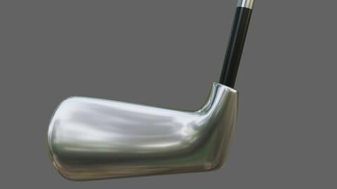 Golf Club - Taco de Golfe Low-poly 3D model