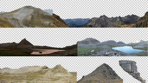 High Res French Mountains Pano Pack