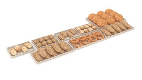 3d bread types 3D