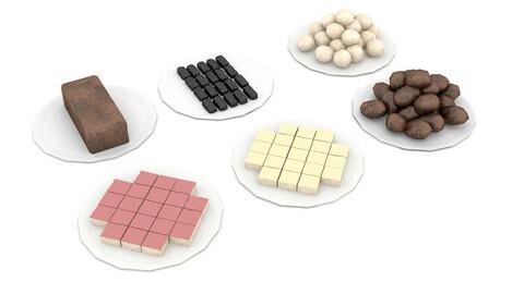 3D cookie types
