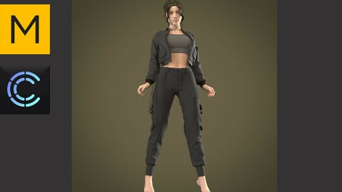 Costume (Clo3d, MD projects)