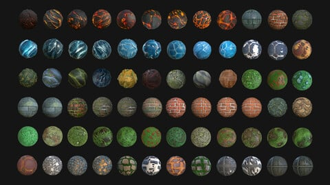 Super Pack Stylized Texture