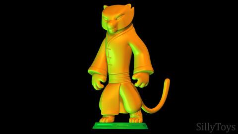 Tigress - Kung Fu Panda 3 3D print model