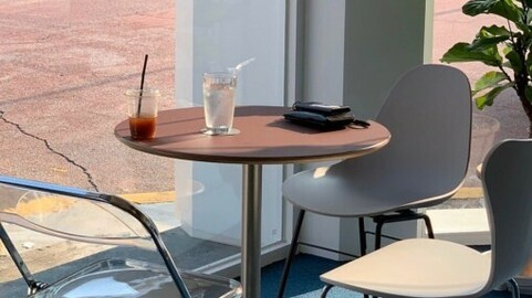 Willy Round Table Cafe Series Wood Edge FENIXNTM Material A Type
