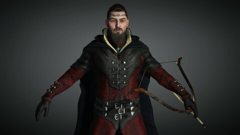 Fantasy Male Character 10