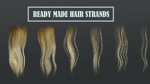 Game ready Hair Strands