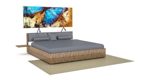 3D classic bedding set 02