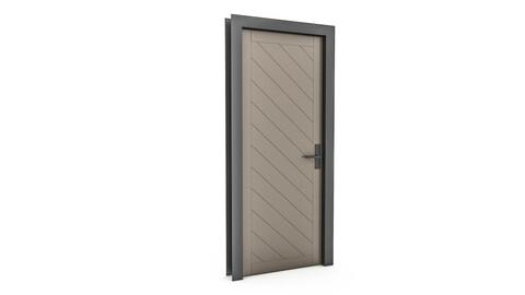 3D modern door design