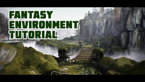 Realistic Fantasy Game Environment in Maya & Unreal Engine