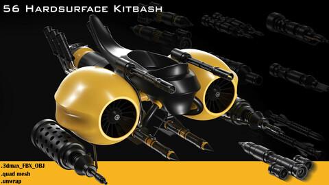 56 hardsurface kitbash