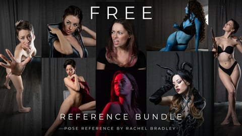 FREE Reference Bundle - Pose Reference for Artists