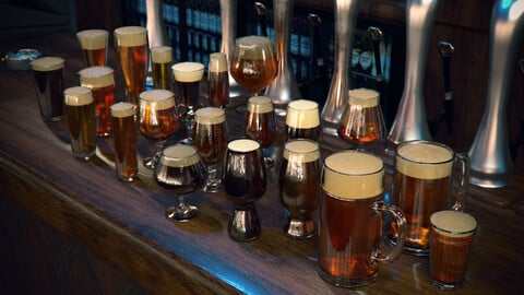 Beer Glassware - A complete collection
