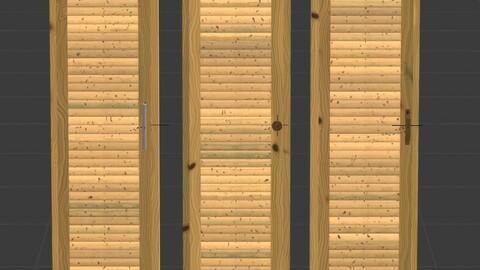 Wardrobe Wooden Closet Doors