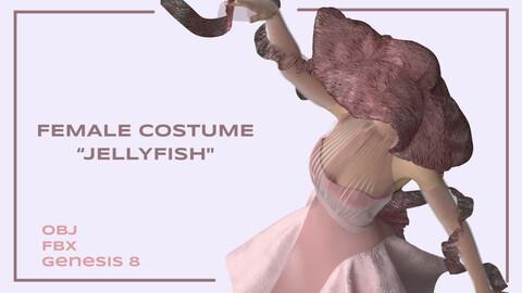 "Female costume ""Jellyfish"""