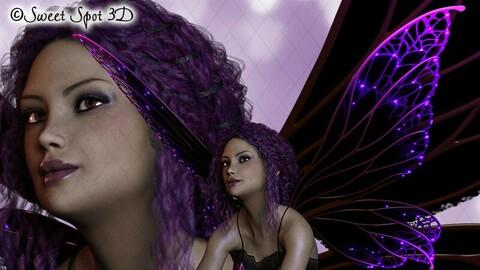 Halloween Fairy Purple