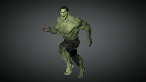 Comics Character 06 ( The Hulk )