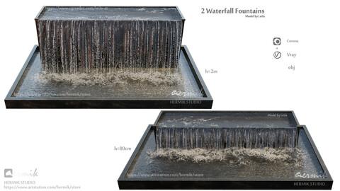 Waterfall fountains Grand Cascade
