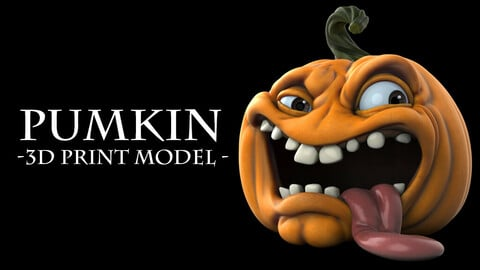 Pumpkin - 3D Print Model