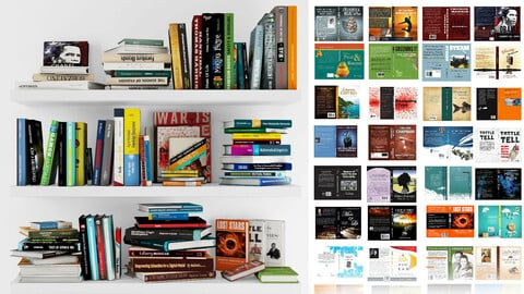 Bookshelf collection 01