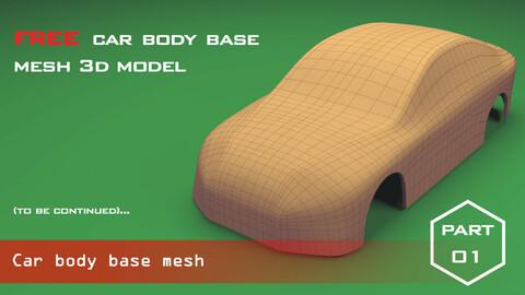 Car body base mesh