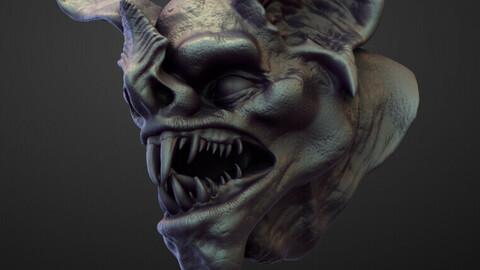 HEAD19 high poly sculpt