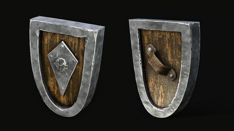 Stylized Medieval Shield