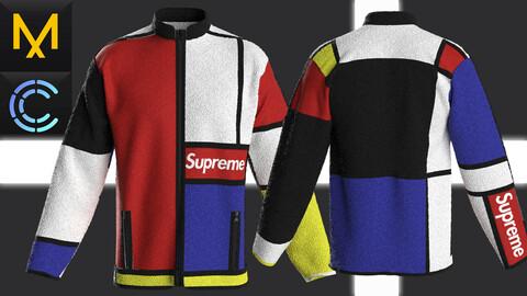 New Concept Jacket Supreme Male Obj Fbx ZPRJ