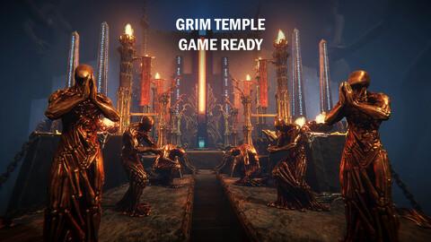 Grim temple
