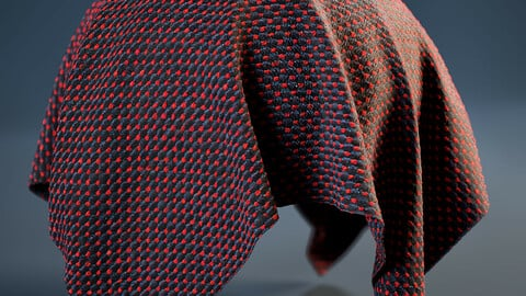 PBR - COTTON INDUSTRIAL FABRIC - 4K MATERIAL