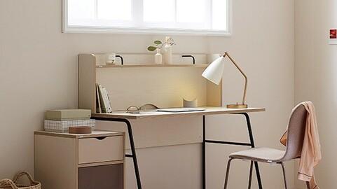 Norma shelf-type desks