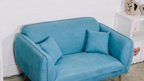 Reno 2 seater Aquatex design sofa