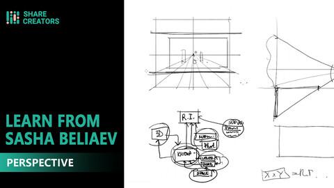 Share Creators Learn From Sasha Beliaev - Class Five: Perspective