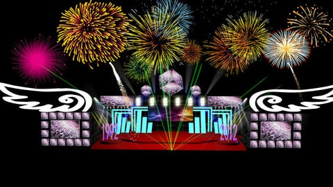 3DS Max 2014 Stage Concert 8