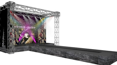 3DS Max 2014 Stage Concert 12
