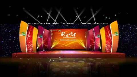 3DS Max 2014 Stage Concert 14