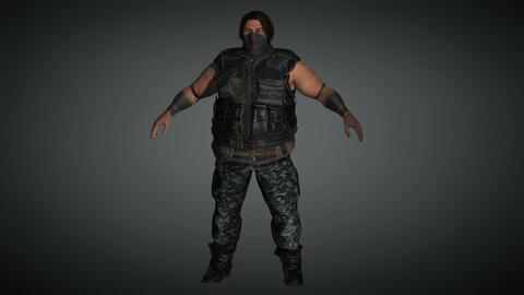 Apocalypse Male Character 03