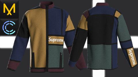 New Concept Jacket Supreme Male Obj Fbx ZPRJ #2