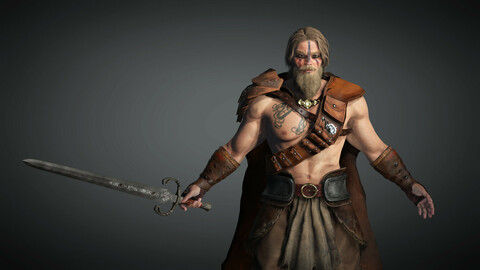 Fantasy Male Character 11