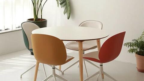 Four Table Marble Four Table
