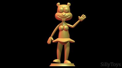 Sandy Cheeks - SpongeBob SquarePants 3D print model